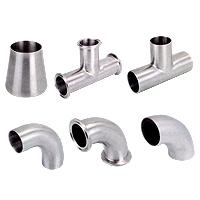 Sanfit Metal Industry Co., Ltd also offers the good quality of butt-weld fittings. 3A sanitary Fitting Tri-weld fittings give processors the highest degree of corrosion resistance and sanitation available.